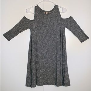 Forever21 Grey Flowy Dress
